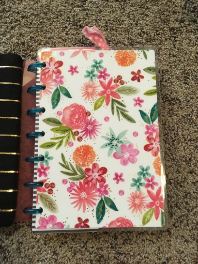 Front Cover of my Mini Planner